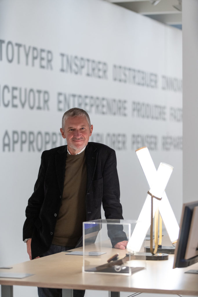 Jean-Louis Fréchin, commisaire de l'exposition © NoDesign_www.intramuros.fr
