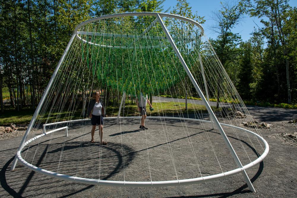 """""""ENTWINE"""" de Waiyee Chou, architecte paysagiste et Carlos Portillo, architecte paysagiste - Toronto et Montréal, Canada"""