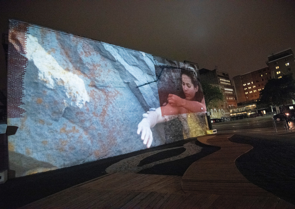 « Ressac » de Mégan Dorigo, Aurélie Martel, Audrey Sambeau et Mireille Simard, finissantes du Diplôme d'études supérieures en design d'événements de l'Université du Québec à Montréal (UQAM)