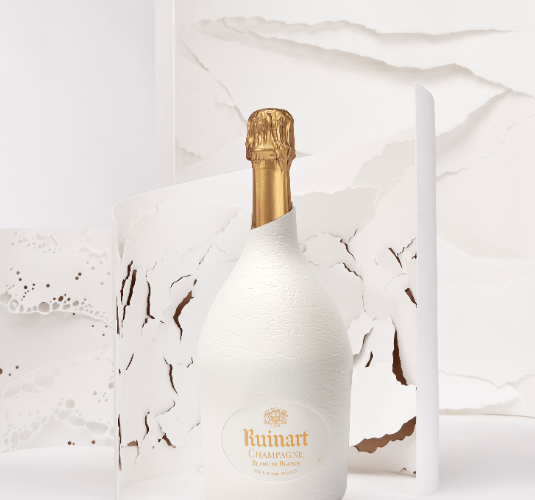Packaging green :  la Maison Ruinart cumule  les prix