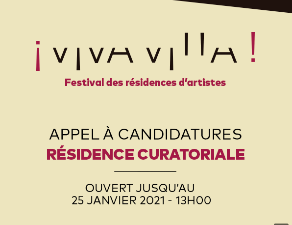 ¡Viva Villa! recherche un commissaire d'exposition