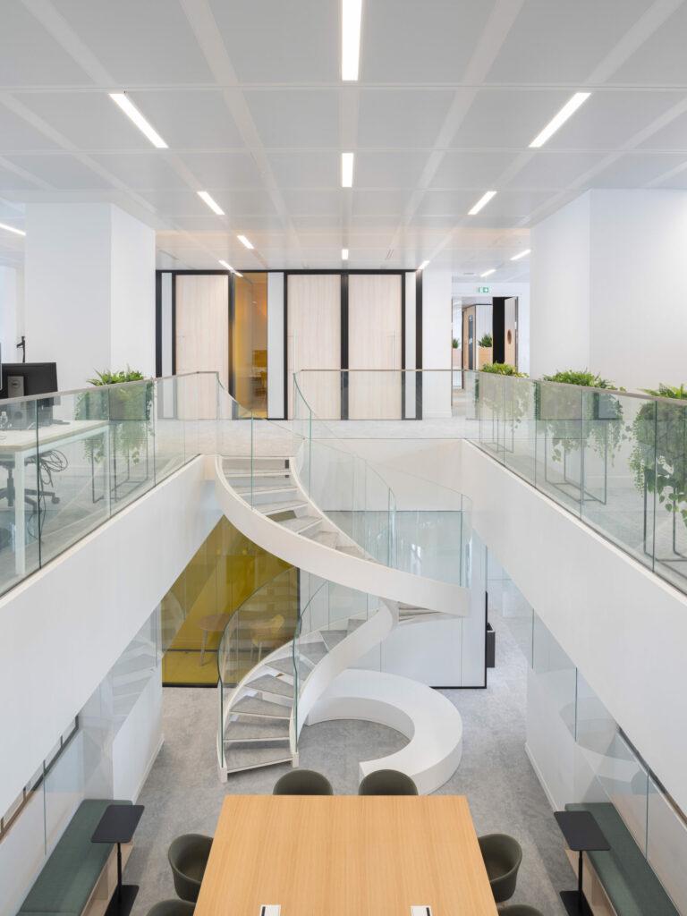 Intérieur bureaux Le Monde selon Snøhetta Intramuros